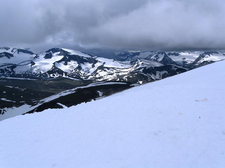 Foto: Andreas Koller / Wander Tour / Von Spiterstulen auf den Glittertind (2465 m) / 05.08.2009 18:49:22