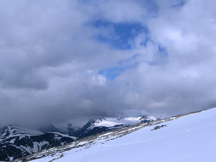 Foto: Andreas Koller / Wander Tour / Von Spiterstulen auf den Glittertind (2465 m) / 05.08.2009 18:48:39