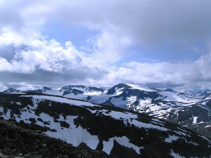 Foto: Andreas Koller / Wander Tour / Von Spiterstulen auf den Glittertind (2465 m) / 05.08.2009 18:47:49