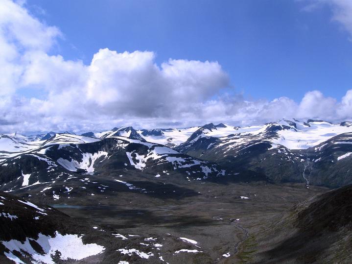 Foto: Andreas Koller / Wander Tour / Von Spiterstulen auf den Glittertind (2465 m) / 05.08.2009 18:47:39