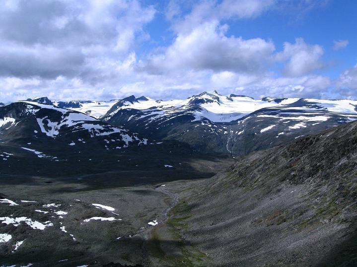 Foto: Andreas Koller / Wander Tour / Von Spiterstulen auf den Glittertind (2465 m) / 05.08.2009 18:47:11