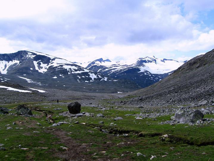 Foto: Andreas Koller / Wander Tour / Von Spiterstulen auf den Glittertind (2465 m) / 05.08.2009 18:47:03