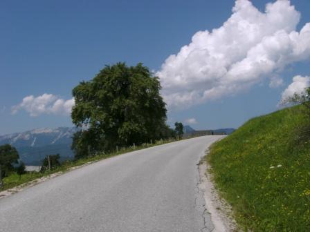 Foto: Johann P. / Mountainbike Tour / Runde um Windischgarsten / Auffahrt nach Oberweng / 07.08.2009 13:02:26