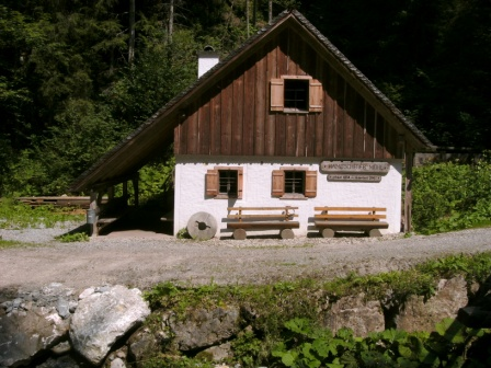 Foto: Johann P. / Mountainbike Tour / Runde um Windischgarsten / Ramitscheder Mühle im Fraitgraben / 07.08.2009 13:03:14