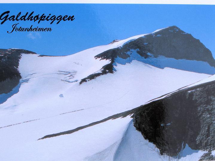 Foto: Andreas Koller / Wander Tour / Galdhopiggen (2469m) - Gletschertour auf den höchsten Berg Nordeuropas  / 07.08.2009 01:13:16