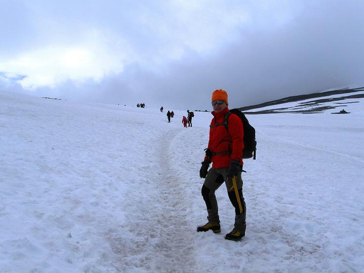 Foto: Andreas Koller / Wander Tour / Galdhopiggen (2469m) - Gletschertour auf den höchsten Berg Nordeuropas  / 07.08.2009 01:12:09