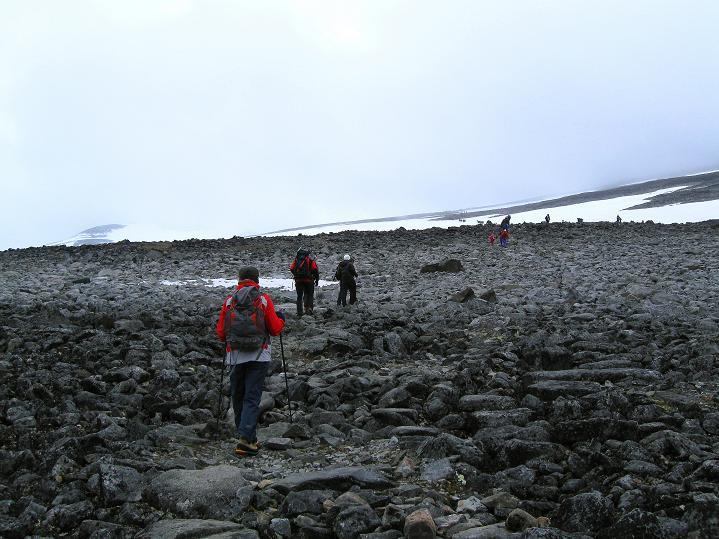 Foto: Andreas Koller / Wander Tour / Galdhopiggen (2469m) - Gletschertour auf den höchsten Berg Nordeuropas  / 07.08.2009 01:12:03