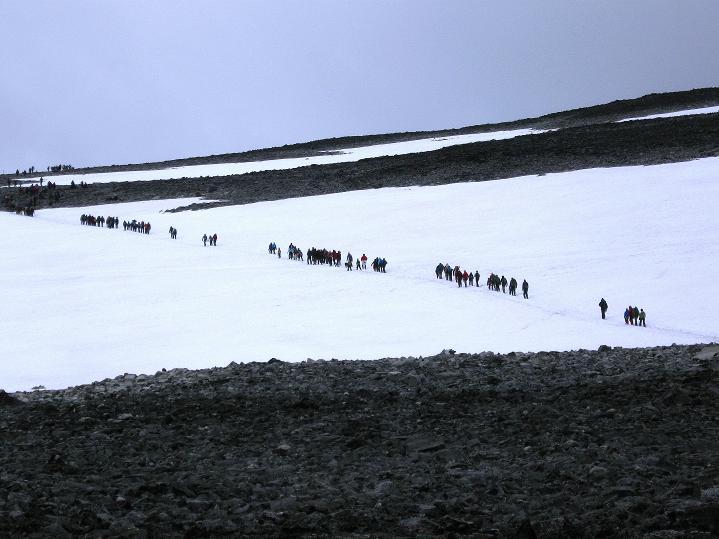 Foto: Andreas Koller / Wander Tour / Galdhopiggen (2469m) - Gletschertour auf den höchsten Berg Nordeuropas  / 07.08.2009 01:11:56