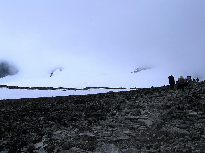 Foto: Andreas Koller / Wander Tour / Galdhopiggen (2469m) - Gletschertour auf den höchsten Berg Nordeuropas  / 07.08.2009 01:11:17