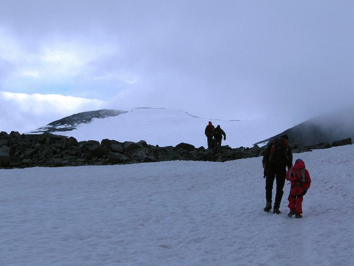 Foto: Andreas Koller / Wander Tour / Galdhopiggen (2469m) - Gletschertour auf den höchsten Berg Nordeuropas  / 07.08.2009 01:10:50
