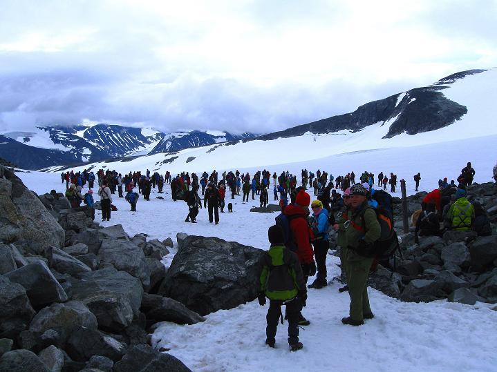 Foto: Andreas Koller / Wander Tour / Galdhopiggen (2469m) - Gletschertour auf den höchsten Berg Nordeuropas  / 07.08.2009 01:10:41