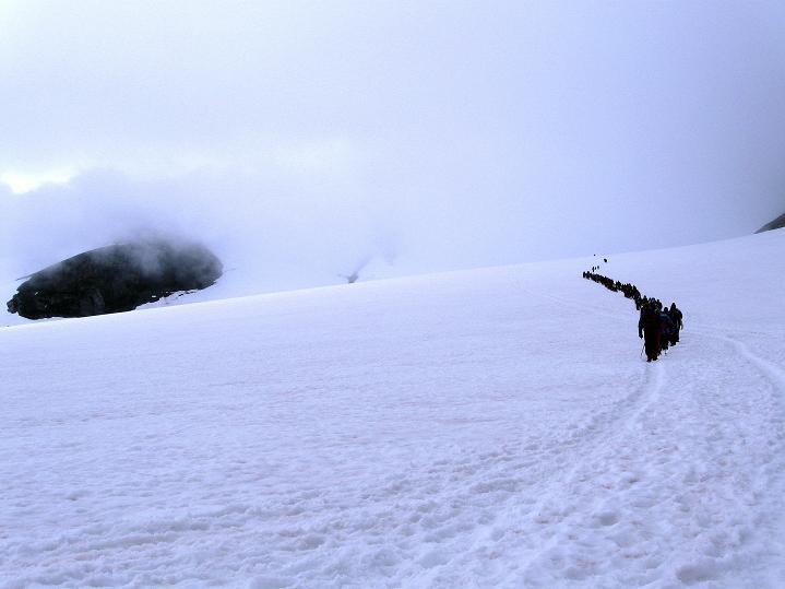 Foto: Andreas Koller / Wander Tour / Galdhopiggen (2469m) - Gletschertour auf den höchsten Berg Nordeuropas  / 07.08.2009 01:10:12