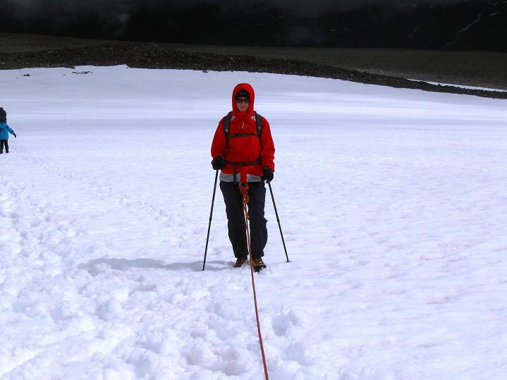 Foto: Andreas Koller / Wander Tour / Galdhopiggen (2469m) - Gletschertour auf den höchsten Berg Nordeuropas  / Am Styggebreen / 07.08.2009 01:09:36