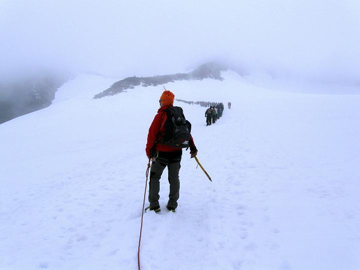 Foto: Andreas Koller / Wander Tour / Galdhopiggen (2469m) - Gletschertour auf den höchsten Berg Nordeuropas  / 07.08.2009 01:09:13