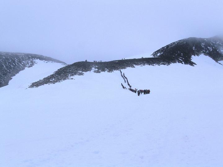 Foto: Andreas Koller / Wander Tour / Galdhopiggen (2469m) - Gletschertour auf den höchsten Berg Nordeuropas  / 07.08.2009 01:09:04