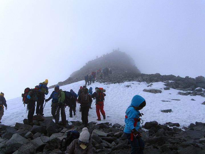 Foto: Andreas Koller / Wander Tour / Galdhopiggen (2469m) - Gletschertour auf den höchsten Berg Nordeuropas  / 07.08.2009 01:07:36
