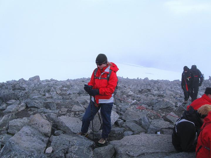 Foto: Andreas Koller / Wander Tour / Galdhopiggen (2469m) - Gletschertour auf den höchsten Berg Nordeuropas  / 07.08.2009 01:07:26