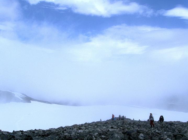 Foto: Andreas Koller / Wander Tour / Galdhopiggen (2469m) - Gletschertour auf den höchsten Berg Nordeuropas  / 07.08.2009 01:07:18
