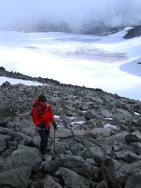 Foto: Andreas Koller / Wander Tour / Galdhopiggen (2469m) - Gletschertour auf den höchsten Berg Nordeuropas  / 07.08.2009 01:07:09