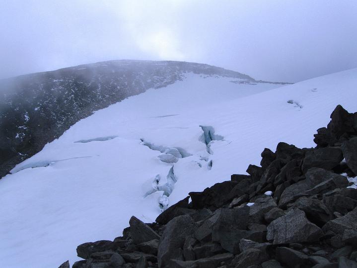 Foto: Andreas Koller / Wander Tour / Galdhopiggen (2469m) - Gletschertour auf den höchsten Berg Nordeuropas  / 07.08.2009 01:06:59