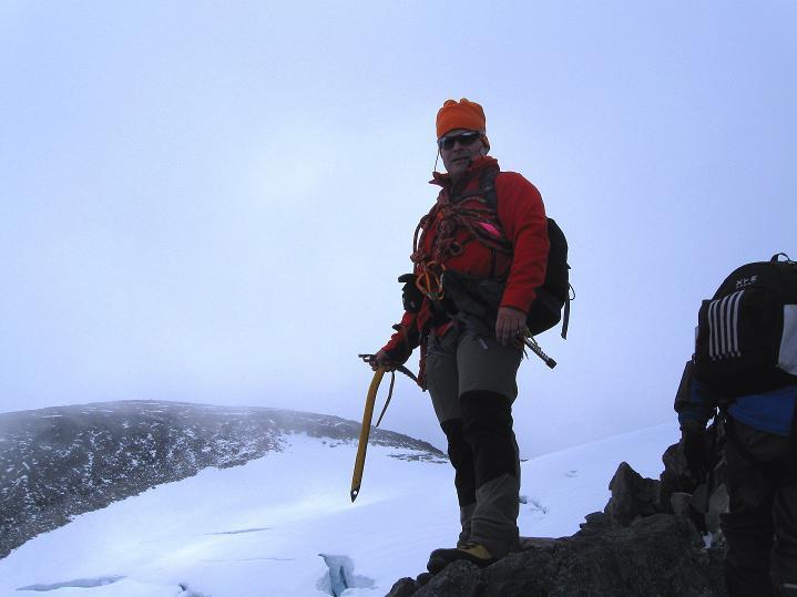 Foto: Andreas Koller / Wander Tour / Galdhopiggen (2469m) - Gletschertour auf den höchsten Berg Nordeuropas  / 07.08.2009 01:06:25