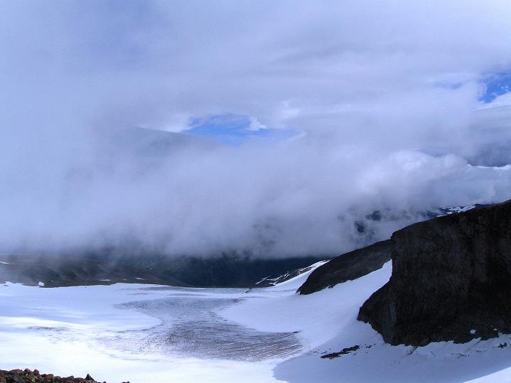 Foto: Andreas Koller / Wander Tour / Galdhopiggen (2469m) - Gletschertour auf den höchsten Berg Nordeuropas  / 07.08.2009 01:05:32