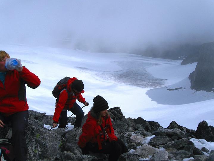 Foto: Andreas Koller / Wander Tour / Galdhopiggen (2469m) - Gletschertour auf den höchsten Berg Nordeuropas  / 07.08.2009 01:05:03