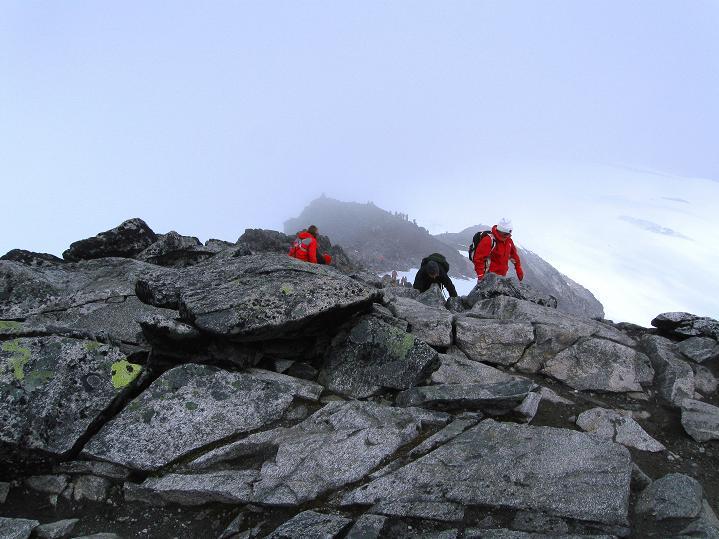 Foto: Andreas Koller / Wander Tour / Galdhopiggen (2469m) - Gletschertour auf den höchsten Berg Nordeuropas  / 07.08.2009 01:04:38