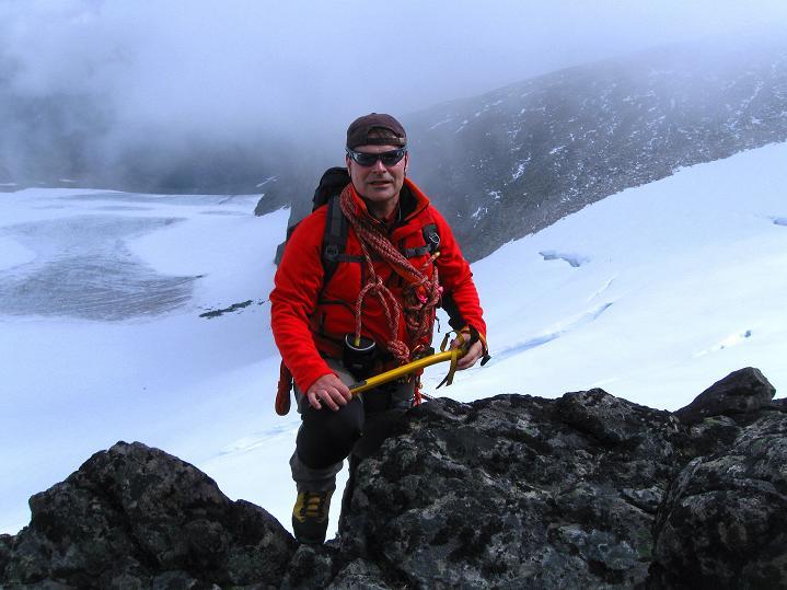 Foto: Andreas Koller / Wander Tour / Galdhopiggen (2469m) - Gletschertour auf den höchsten Berg Nordeuropas  / 07.08.2009 01:04:18
