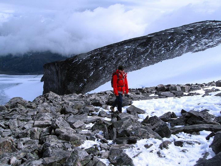 Foto: Andreas Koller / Wander Tour / Galdhopiggen (2469m) - Gletschertour auf den höchsten Berg Nordeuropas  / 07.08.2009 01:03:30