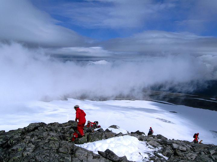 Foto: Andreas Koller / Wander Tour / Galdhopiggen (2469m) - Gletschertour auf den höchsten Berg Nordeuropas  / 07.08.2009 01:03:18