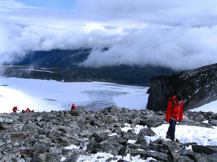 Foto: Andreas Koller / Wander Tour / Galdhopiggen (2469m) - Gletschertour auf den höchsten Berg Nordeuropas  / 07.08.2009 01:03:09