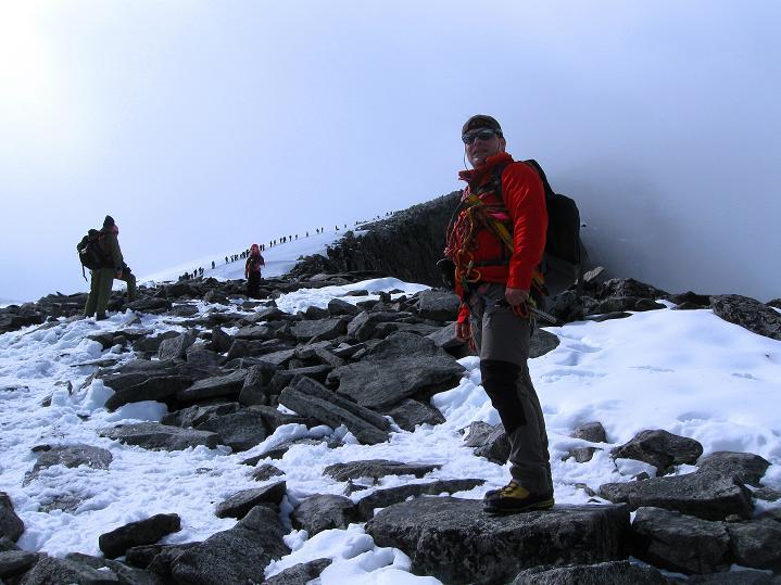 Foto: Andreas Koller / Wander Tour / Galdhopiggen (2469m) - Gletschertour auf den höchsten Berg Nordeuropas  / 07.08.2009 01:02:59