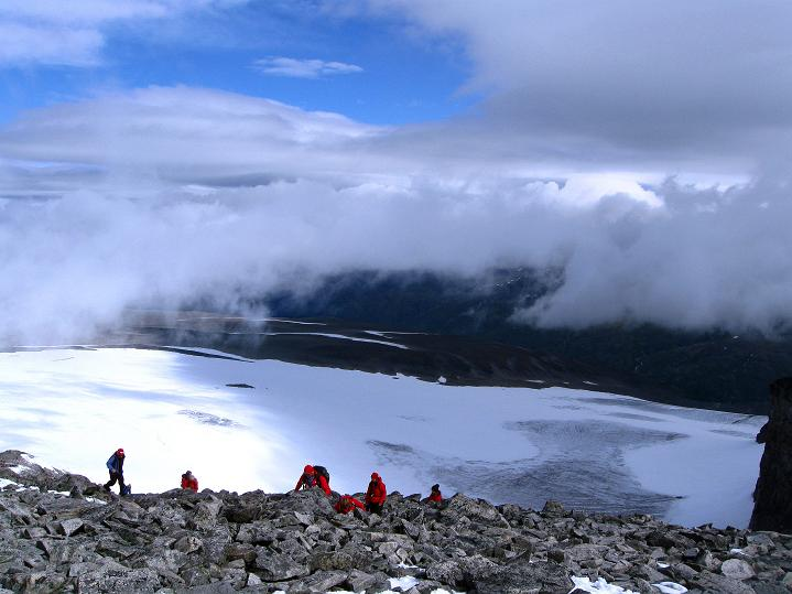 Foto: Andreas Koller / Wander Tour / Galdhopiggen (2469m) - Gletschertour auf den höchsten Berg Nordeuropas  / 07.08.2009 01:02:51