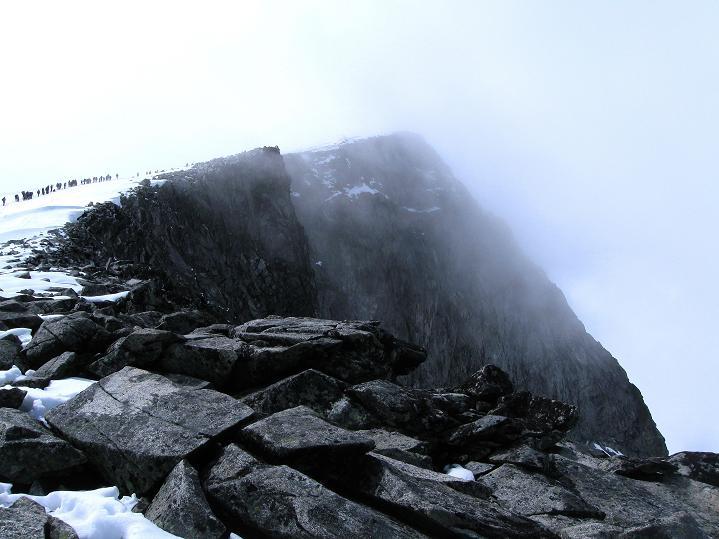 Foto: Andreas Koller / Wander Tour / Galdhopiggen (2469m) - Gletschertour auf den höchsten Berg Nordeuropas  / Galdhopiggen / 07.08.2009 01:02:31