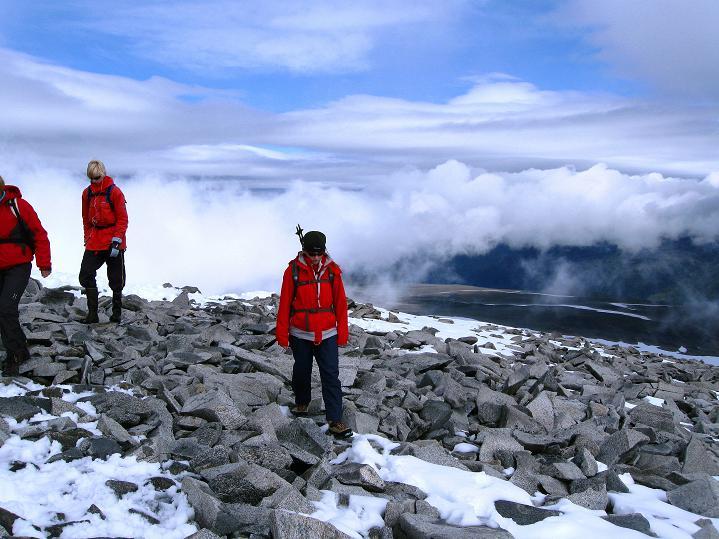 Foto: Andreas Koller / Wander Tour / Galdhopiggen (2469m) - Gletschertour auf den höchsten Berg Nordeuropas  / 07.08.2009 01:02:16