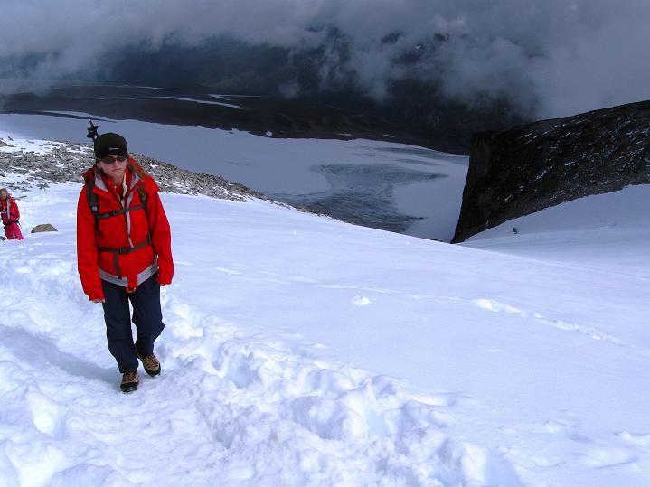 Foto: Andreas Koller / Wander Tour / Galdhopiggen (2469m) - Gletschertour auf den höchsten Berg Nordeuropas  / 07.08.2009 01:02:09