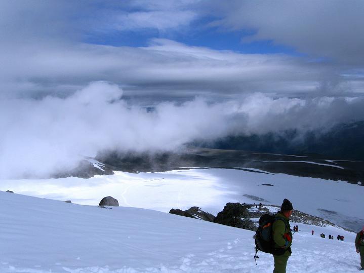 Foto: Andreas Koller / Wander Tour / Galdhopiggen (2469m) - Gletschertour auf den höchsten Berg Nordeuropas  / 07.08.2009 01:01:08