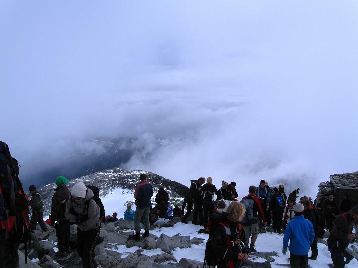 Foto: Andreas Koller / Wander Tour / Galdhopiggen (2469m) - Gletschertour auf den höchsten Berg Nordeuropas  / 07.08.2009 00:58:34