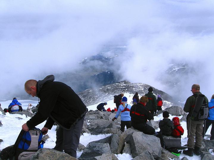 Foto: Andreas Koller / Wander Tour / Galdhopiggen (2469m) - Gletschertour auf den höchsten Berg Nordeuropas  / 07.08.2009 00:58:26