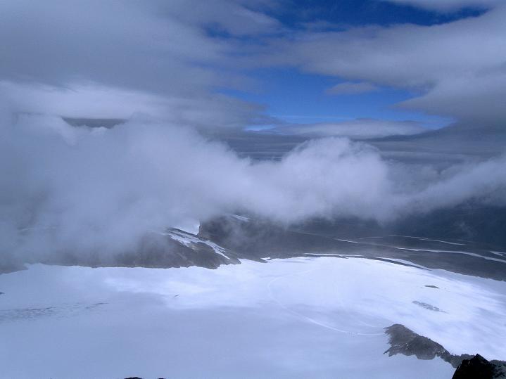 Foto: Andreas Koller / Wander Tour / Galdhopiggen (2469m) - Gletschertour auf den höchsten Berg Nordeuropas  / 07.08.2009 00:57:59
