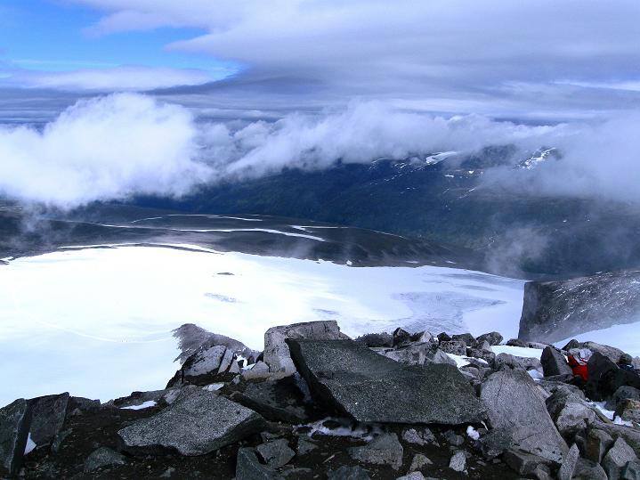 Foto: Andreas Koller / Wander Tour / Galdhopiggen (2469m) - Gletschertour auf den höchsten Berg Nordeuropas  / 07.08.2009 00:57:50