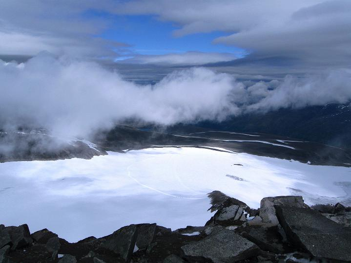 Foto: Andreas Koller / Wander Tour / Galdhopiggen (2469m) - Gletschertour auf den höchsten Berg Nordeuropas  / 07.08.2009 00:57:42