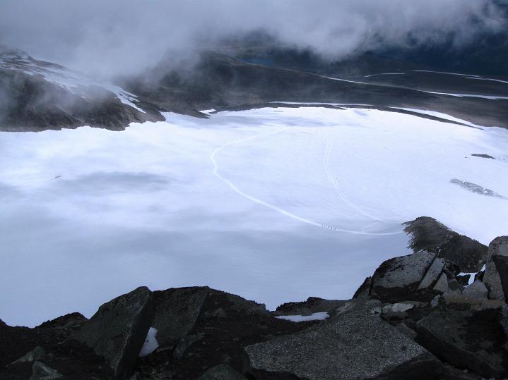 Foto: Andreas Koller / Wander Tour / Galdhopiggen (2469m) - Gletschertour auf den höchsten Berg Nordeuropas  / 07.08.2009 00:57:34