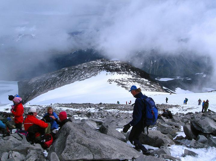 Foto: Andreas Koller / Wander Tour / Galdhopiggen (2469m) - Gletschertour auf den höchsten Berg Nordeuropas  / 07.08.2009 00:57:24