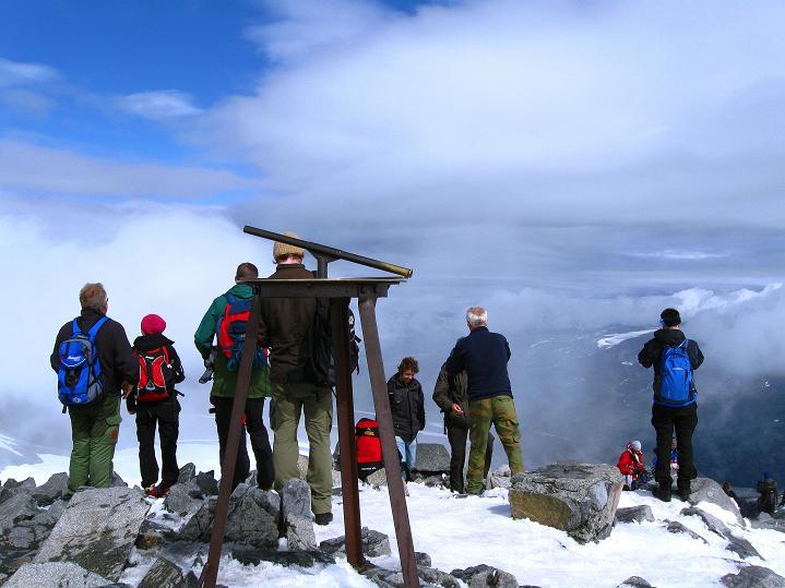Foto: Andreas Koller / Wander Tour / Galdhopiggen (2469m) - Gletschertour auf den höchsten Berg Nordeuropas  / 07.08.2009 00:57:17