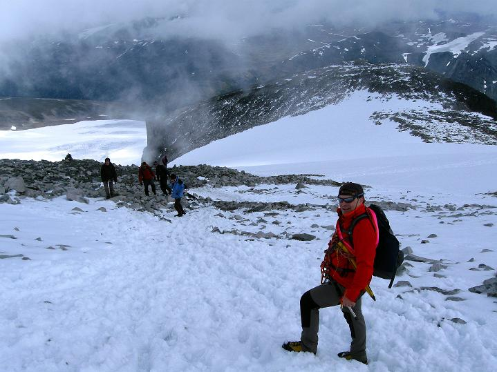 Foto: Andreas Koller / Wander Tour / Galdhopiggen (2469m) - Gletschertour auf den höchsten Berg Nordeuropas  / 07.08.2009 00:56:34