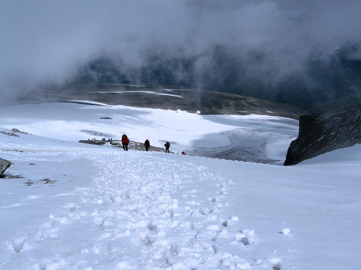 Foto: Andreas Koller / Wander Tour / Galdhopiggen (2469m) - Gletschertour auf den höchsten Berg Nordeuropas  / 07.08.2009 00:56:25