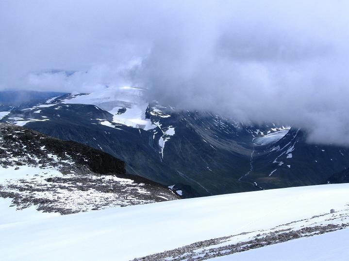 Foto: Andreas Koller / Wander Tour / Galdhopiggen (2469m) - Gletschertour auf den höchsten Berg Nordeuropas  / 07.08.2009 00:56:14