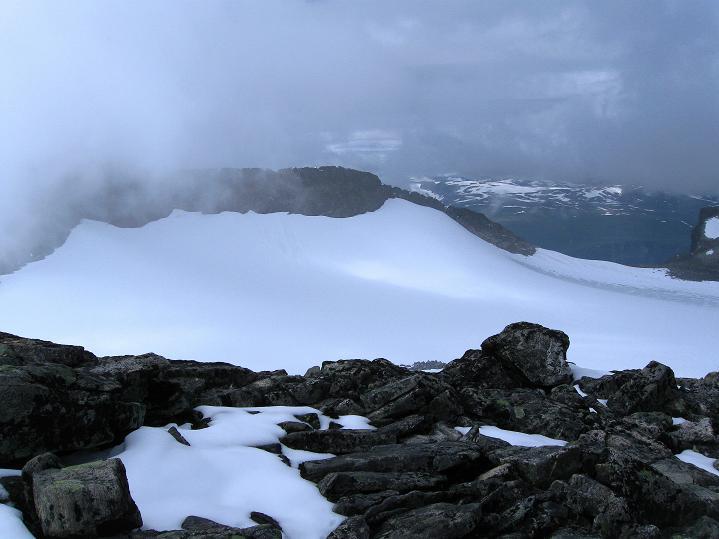 Foto: Andreas Koller / Wander Tour / Galdhopiggen (2469m) - Gletschertour auf den höchsten Berg Nordeuropas  / 07.08.2009 00:55:30